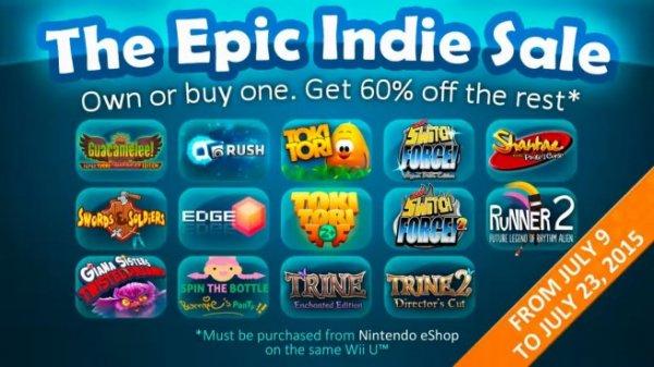 Epic Indie Sale im Nintendo eShop