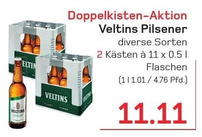 [LOKAL WUPPERTAL] Veltins Doppelkasten Aktion: Zwei 11er Kästen 0,5l für 11,11€ @ Akzenta