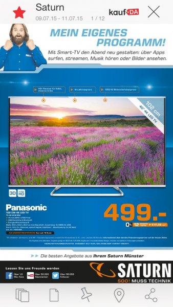 [lokal Münster] Panasonic TX-40AXW634 für 499€ bei Saturn