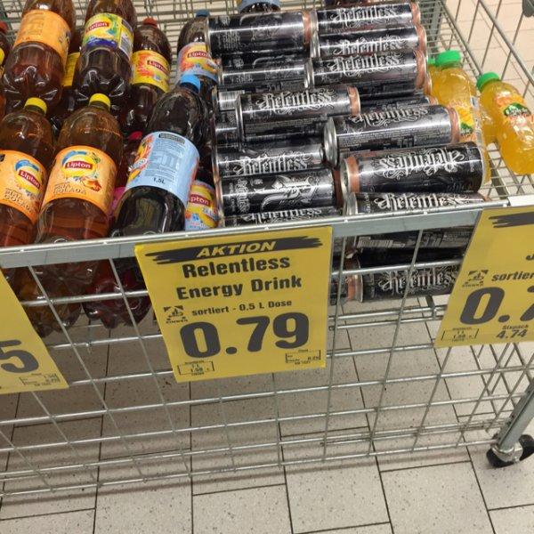 Relentless Energy 0,5 Liter bei Netto ohne Hund für 0,79€ [lokal Tönisvorst] Bundesweit ?