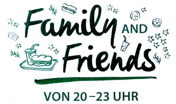 [Subway] Family & Friends Menü jeden Tag ab 20 Uhr günstiger