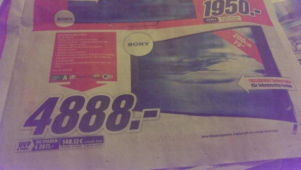 Sony KD 79 Zoll 9005 BBAEP