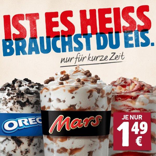 Burger King X-Cream Eis statt 2,19€ jetzt für kurze Zeit 1,49€ (ohne Gutschein/Coupon/PLU)