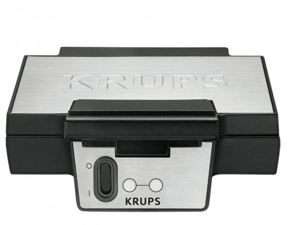 [3% Qipu] Krups FDK 251 Waffeleisen, 850 Watt für Belgische Waffeln, schwarz / edelstahl für 26,90€ frei Haus @dealclub