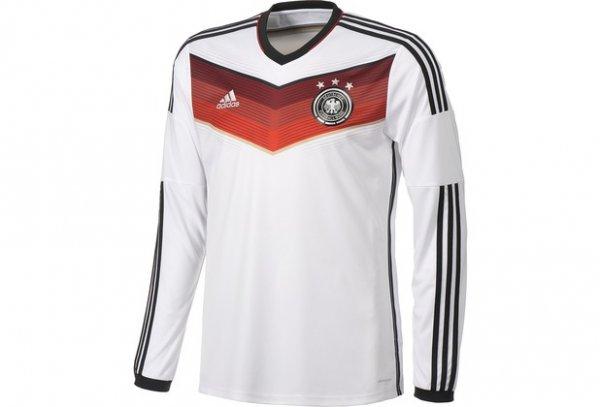 Adidas DFB Langarm Trikot mit drei Sternen für 34,95€ (inkl. Versand) bei Outfitter.de