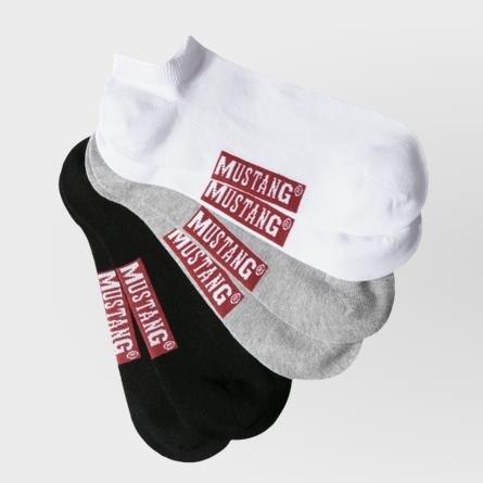 Mustang Sneaker Socken 3er-Set für 4,95€