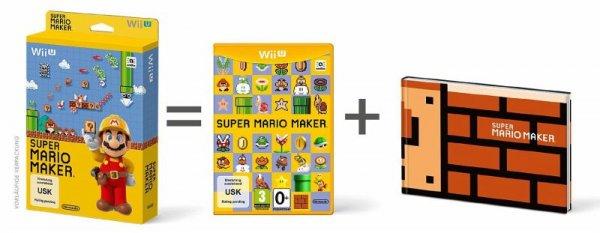 (WII U) Super Mario Maker + Artbook für 44,99 € vorbestellen