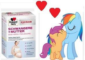 1x gratis Packung Doppelherz für Schwangere & Mütter