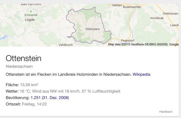 Kostenloses Baugrundstück in Ottenstein