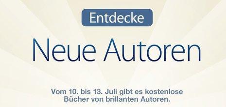 """[iBook] """"Entdecke neue Autoren"""": Vier kostenlose Bücher im iBooks Store"""