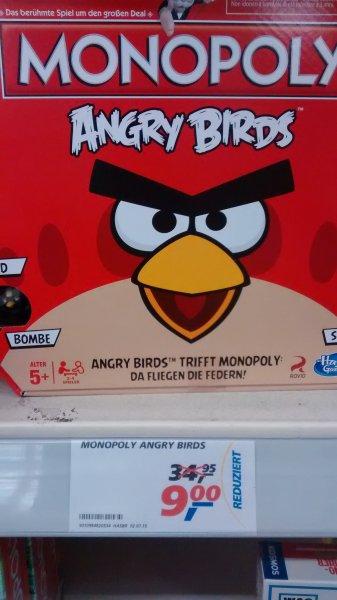 [lokal: Freising] Hasbro Monopoly Angry Birds für 9 € im Real