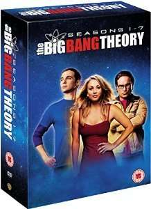 The Big Bang Theory - Staffel 1 bis 7, Limited Edition, insgesamt 22 DVDs für 61,97 € statt 99,99 €, @Amazon