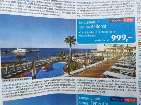 29 Tage Mallorca, Top Hotel inkl Airberlin Flug
