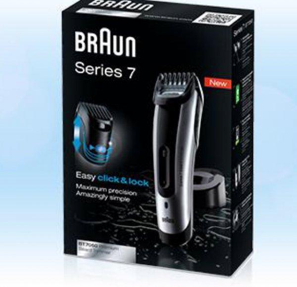 Braun Series 7 BT7050 Bart- und Haarschneider