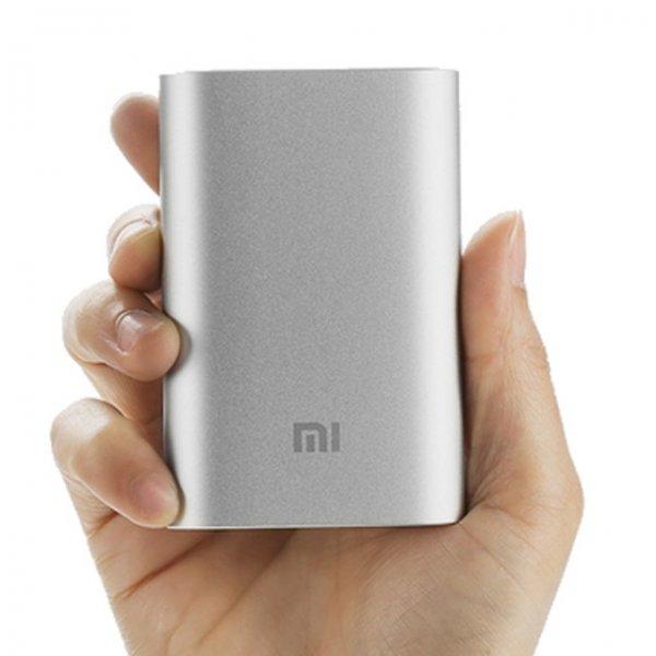 [Allbuy] Xiaomi Powerbank 10000mAh (silber und original)