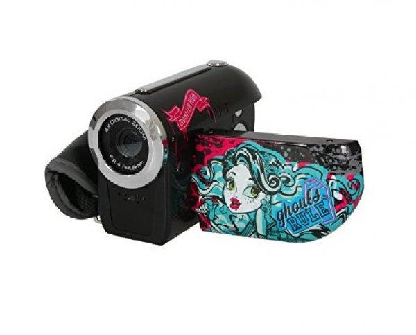 TECH TRAINING Digitalvideokamera Monster High für 8,47 Euro + 3,99 Euro Versand bei Pixmania