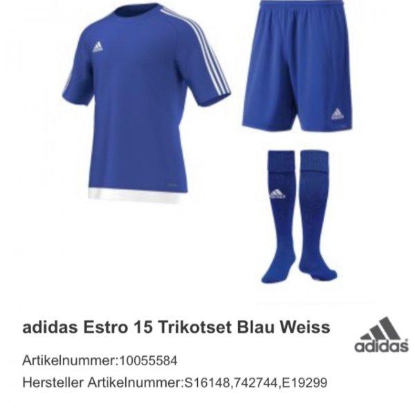 Adidas Trikotset in verschiedenen Farbkombinationen [11teamsports] für 26,10€