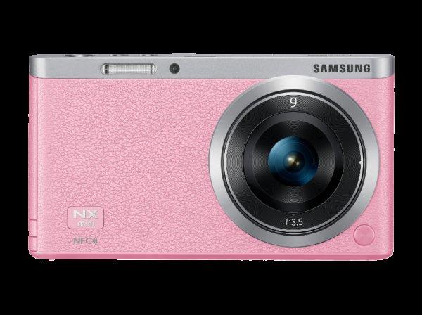 [MediaMarkt Österreich] Samsung NX mini PINK mit Objektiv NX-M 9mm ED für 103,99 Euro inkl. Versand - PVG: 224,98€ Versand nach DE +6,6 Euro