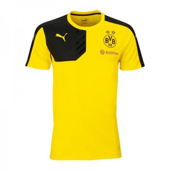 Borussia Dortmund Trainingsshirt 2015/16 in gelb und schwarz bei 11teamsports.de