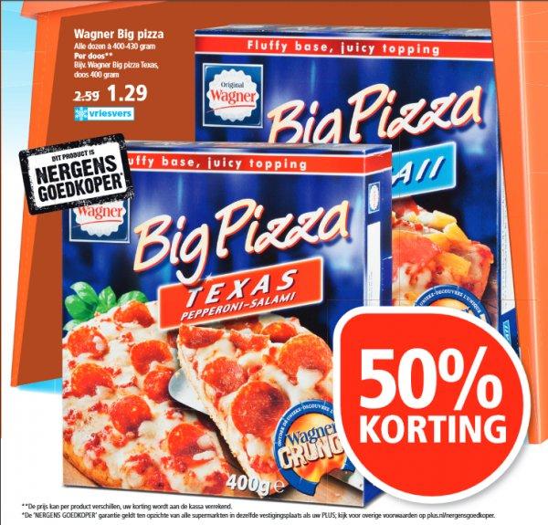 [GRENZGÄNGER NL] PLUS - WAGNER BIG PIZZA -50% für 1,29 Euro
