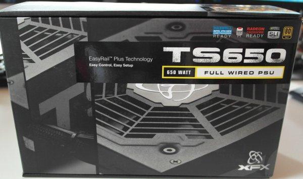 XFX P1-650G-TS3X 650W 80+ Gold Certified Wired Single Rail - sehr leise - NEU @ eBay.de
