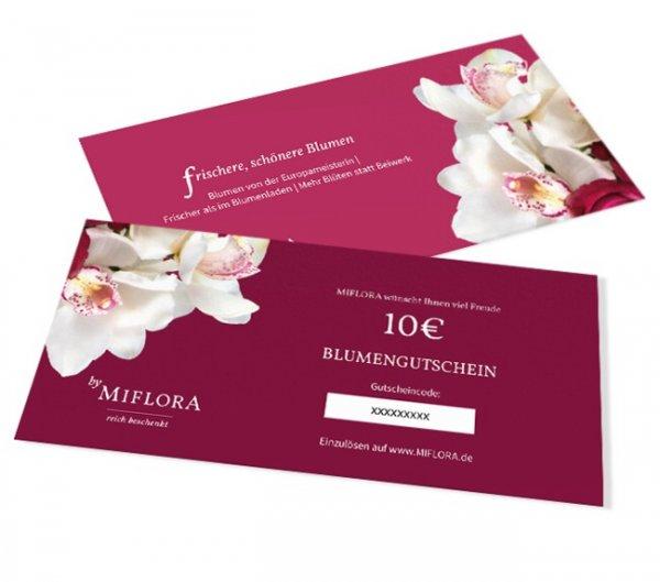 Miflora 10€ Wertgutschein für 1€
