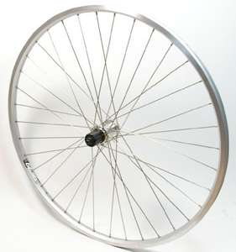 @Amazon: Rigida 28 Zoll Hinterrad mit Shimano RM30 8-10-fach Nabe Silber für 0,90 € + 3,95 € Versand / Idealo ab 38 €