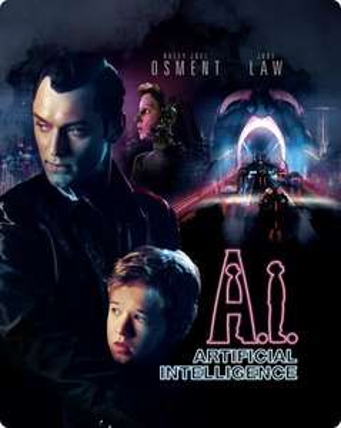 A.I. Künstliche Intelligenz - Steelbook (Blu-ray) für 12,68€ Zavvi.de