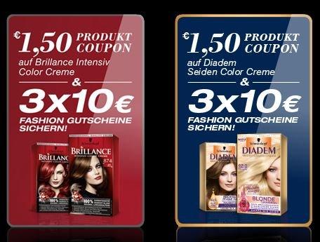 Immernoch (lokal?) möglich: Schwarzkopf Haarfarbe Rot + Blond mit Coupon bei Rossmann als Freebie