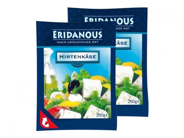(Lidl) Eridanous Hirtenkäse 250 g für 0,66€ (statt 0,85€) , am 18.7.15