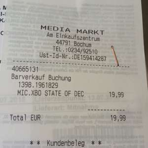 [Media Markt / Saturn] - STATE OF DECAY YOEdition - xbox one