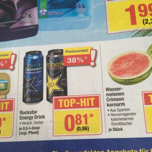 [Metro/Bundesweit] Rockstar Energy Drink -.96 Cent (+Pfand)