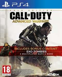 [game.co.uk] Call of Duty - Advanced Warfare Gold Edition XBOX ONE & PS4