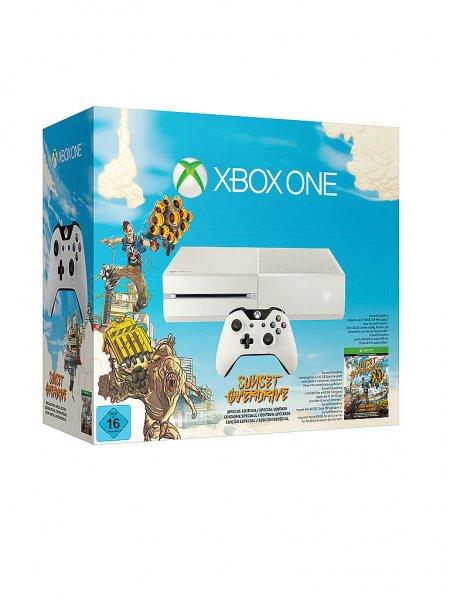 Xbox One 500GB (weiß) + Sunset Overdrive für 299,99€ @Kastner & Oehler