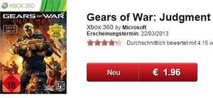[Gamestop, offline und online] Gears of War: Judgment