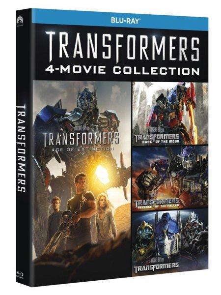 Transformers Teil 1-4 [Blu-ray-Box] für 23,21€ @Amazon.it