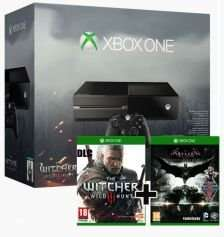 [game4game.at] Xbox ONE The Witcher 3: Wild Hunt Bundle + BATMAN: ARKHAM KNIGHT