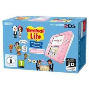 Nintendo 2DS (Pink) + Tomodachi Life für 95€ @Real.de