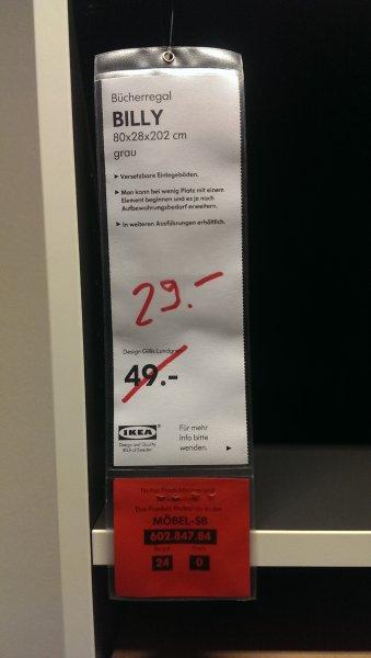 [Ikea Essen] Billy Bücherregal Grau.