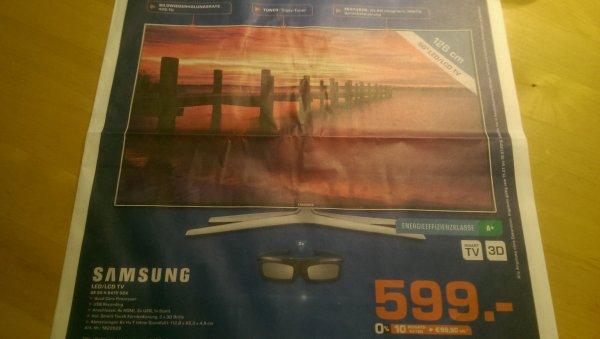 """[SATURN] SAMSUNG UE50H6470SSX HDTV 400Hz 50"""" + 2 3D Brillen"""
