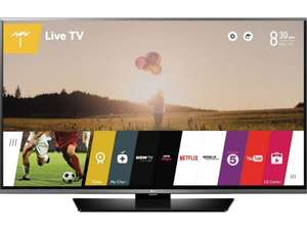 LG 40LF630V 100 cm (40 Zoll) LED-TV, WLAN integriert, USB-Recording, Full HD, Triple Tuner, Direct LED, DLNA usw. für 375,99 € statt 486,99 €, @ NBB