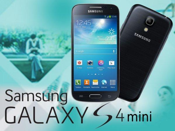(Lokal Media Markt Berlin/Brandenburg) Samsung Galaxy S4 Mini 150€ Farbe schwarz!