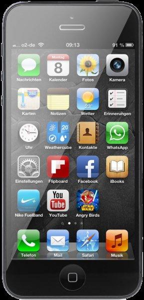 iPhone 5 64GB B-Ware für 343€ inkl. Versand bei Handyklick.de