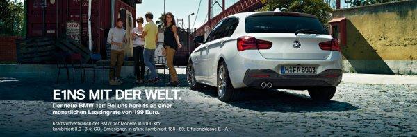 Leasing Angebot BMW 116i für nur 199€ ohne Anzahlung !!!
