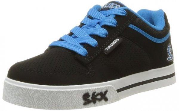 [Amazon Prime] Skechers Vert II Knaben Sneakers schwarz/blau für 11,99 EUR incl. Versand