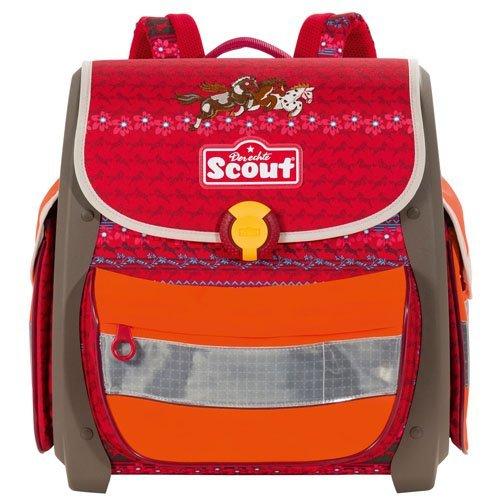 ( Amazon ) Scout Buddy Einzel-Schulranzen  ROT