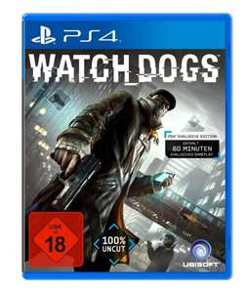 Lokal Saturn Siegen - Watchdogs für PS4 Playstation 4
