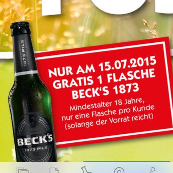 [Hol ab] 1x Flasche Becks GRATIS