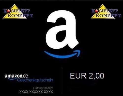 2 € Amazon GS für 1 € @ ebay