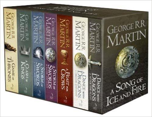 [Amazon Prime Day UK] George R. R. Martin: A Song of Ice and Fire - 7 Volumes Sammelbox (Sprache: Englisch) für 43,50€ (nächster Preis: 64,95€)
